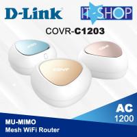 D-Link Mesh 3 WiFi Router COVR C1203 AC1200 Dual Band Mu-MiMo