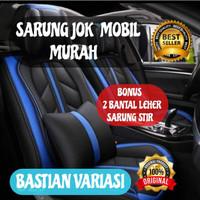 sarung jok mobil motif 3 seat avanza terios rush ertiga - Sporty Deluxe