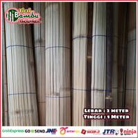 Tirai krey bambu ati size L-2m x T-1m
