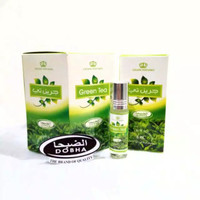 parfum minyak wangi dobha 6 ml non alkohol aroma green tea