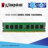 Kingston Memory LongDimm 8GB DDR3 - 1600 KVR16N11/8