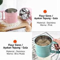Ayakan Tepung - Gula Halus Stainless / Flour Sieve