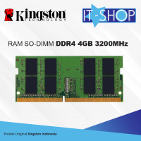 Kingston Memory Sodimm 4GB DDR4 - 3200 KVR32S22S6/4