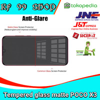 tempered glass poco x3 nfc full cover