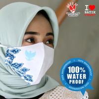 MASKER BATIK GARUDA INDONESIA ANTI AIR WATERPROOF KAIN BALI BARONG