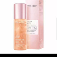WARDAH HYDRA ROSE PETAL INFUSED TONER 100 ML