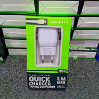 Tc Travel Charger OPPO Quick Single Usb Port 3.5A Max Packing Import