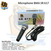 MICROPHONE MIC BMA SR617 PROFESIONAL DINAMIC MIK SR-617 KARAOKE ASLI