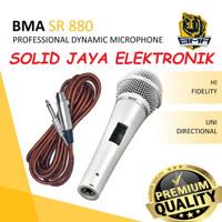 MICROPHONE MIC BMA SR880 PROFESIONAL DINAMIC MIK SR-880 KARAOKE ASLI