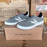 OBRAL Sepatu Sneakers Piero Mojo - Grey/White
