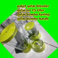 Gelas Blender Miyako / Nasional / Sanex / Gmc / gelas Set Plastik