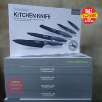 Pisau Dapur Lock n Lock - Knife Set 6 in 1