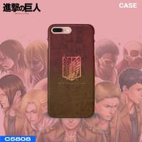 Case Custom Handphone Attack on Titan