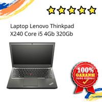 LAPTOP LENOVO THINKPAD X240 CORE I5 4GB 320 GB SECOND BERGARANSI