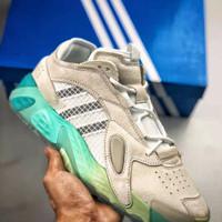 sepatu adidas streetball grey