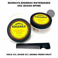 POMADE MURRAYS EDGEWAX 4oz free sisir