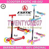 Scooter / Otoped / Skuter Anak Roda Tiga Exotic ET HB 002 Murah