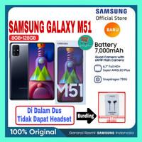 Samsung Galaxy M51 8/128GB Garansi Resmi SEIN