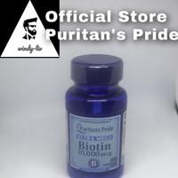 Puritan Pride Biotin 10000 mcg isi 100 softgel