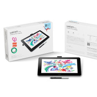 Wacom One (DTC133W0C) Graphic Drawing Pen Display Tablet