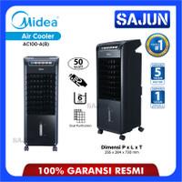 Midea Air Cooler AC-100 A (B) 6 Liter Hitam
