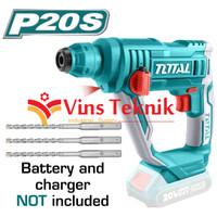UNIT ONLY Bor beton baterai cordless hammer drill TOTAL TRHLI1601