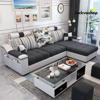 PROMO / Sofa / Sofa Bed / Sofa Minimalis L Sudut