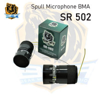 SPUL SPULL MICROPHONE MIC BMA SR 502 SPOL SPOOL ELEMEN MIK SR502 ASLI