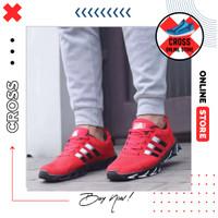 Sepatu Sneakers Pria Adidas Springblade Colour Premium Import - A.Merah