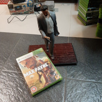 DVD xbox 360 original max payne 3 + statue collector edition
