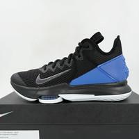 Sepatu Basket Nike Lebron Witness IV Black Clear Hyper BV7427-007 Ori