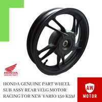 HONDA Genuine Part Wheel Velg Motor Racing Belakang for New Vario