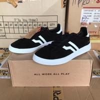 OBRALSepatu Sneakers Piero Mojo - Black/White