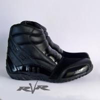Sepatu Motor RVR Rush v2 Black - 42