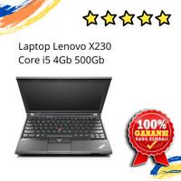 LAPTOP LENOVO X230 CORE i5 4GB HDD 500GB SECOND BERGARANSI