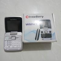 Handphone HP Lipat Flip Strawberry Whisky ST99 Keypad Qwerty