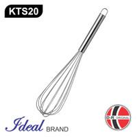 IDEAL KTS20 Pengocok Telur / Adonan / Ballon Whisker Stainless (47CM)