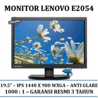 "Monitor Lenovo Thinkvision E2054 19.5"" LED Backlit LCD Monitor"
