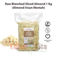 Almond Slice 1 Kg ( Kacang Almond Mentah-Irisan)