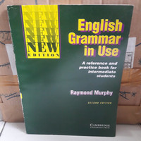 BUKU - ENGLISH GRAMMAR IN USE SECOND EDITION