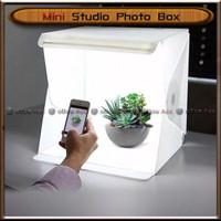 Mini Studio Photo Box Kotak Foto Lipat With LED Portable