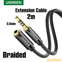 Ugreen Extension Cable Stereo Jack 3.5mm Headphone Aux Audio Lead Male