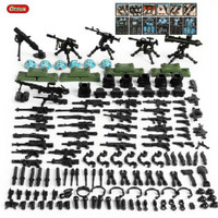 Lego Set Swat isi 6 pcs Weapons Polisi Tentara Military Soldier Army S