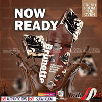 BRUNETTE CHOCOLATE CHEESE CREAM BAKE 100ML AUTHENTIC LIQUID PREMIUM