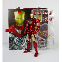 Action Figure Marvel Ironman 2 Mark 3 Original ZD Toys