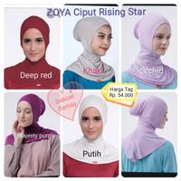 ZOYA Ciput Rising Star Original-iner/dalaman hijab bergo kerudung