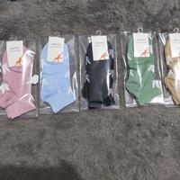 kaos kaki wanita pendek murah import