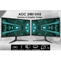 AOC 24B1XH5 24 inch 75Hz Full HD Ultra Slim Frameless IPS Monitor