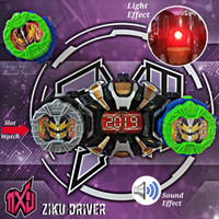 KAMEN RIDER ZI-O DRIVER WEAPON LIGHT & SOUND EFFECT - MAINAN ANAK