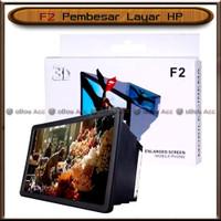 Pembesar Layar HP F2 3D Proyeksi Enlarged Screen Mobile Cinema